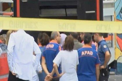 Ankara'da hastanede kimyasal madde alarmı: 19 personel tedavi altına alındı
