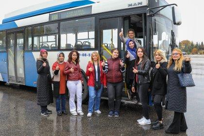 Ankara'da toplu ulaşıma kadın eli değecek