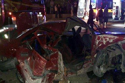 Ankara'da trafik kazası: 2 ölü, 4 yaralı