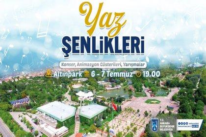 Ankara'da 'Yaz Şenlikleri' başlıyor