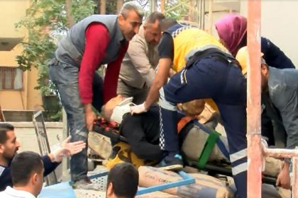 Ankara'da yük asansörü düştü: 3 işçi yaralı