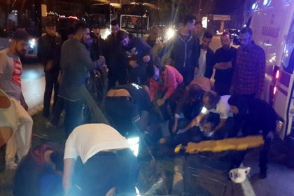Antalya'da motosiklet kazası: 1 ölü, 1 yaralı