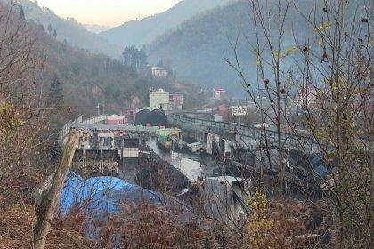 Artvin'de köylülerin kömür tozu isyanı