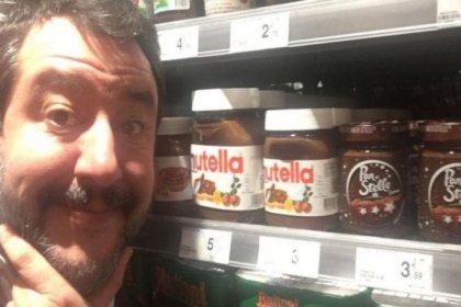 Aşırı sağcı İtalyan politikacı Salvini, Türk fındığı kullandığı için artık Nutella'yı sevmediğini söyledi