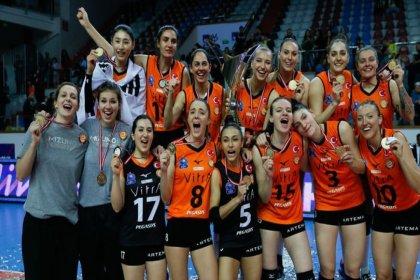 AXA Sigorta Kadınlar Kupa Voley şampiyonu Eczacıbaşı VitrA oldu