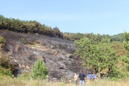 Aydos ormanında çıkan yangın söndürüldü, başkan Gökhan Yüksel, 'Kaybettiğimiz bölgeyi en kısa sürede yeniden ağaçlandıracağız' dedi