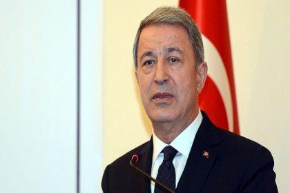 Bakan Akar: Güvenli bölge sadece Türkiye'de olmalıdır