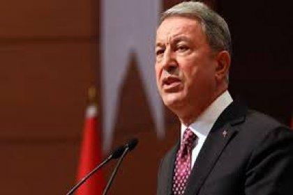 Bakan Akar: Kıbrıs bizim milli meselemiz; taviz vermemiz söz konusu değil