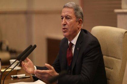 Bakan Akar: Üzülerek söylüyorum ki, ABD, YPG'ye silah desteği veriyor