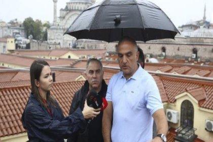 Bakan Ersoy'dan 'Kapalıçarşı' açıklaması: En azından çatı testi başarıyla geçti