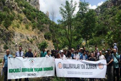 Ballıkayalar Tabiat Parkı'nın içinden otoyol geçirilmesi planlarına sivil toplum kuruluşlarından tepki