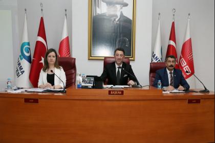 Bandırma Belediye Başkanı Tolga Tosun öncülüğünde ilk meclis toplantısı yapıldı