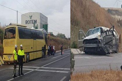 Bandırma'da otobüs kazası: 4 ölü 42 yaralı
