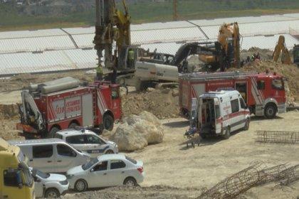 Başakşehir'de inşaatta göçük: 1 işçi hayatını kaybetti