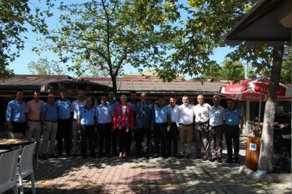 Belediye Başkanı Özlem Becan Zabıta Haftası'nı kutladı