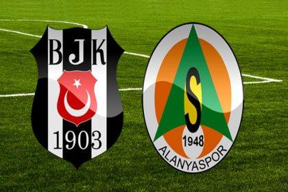Beşiktaş-Alanyaspor bu akşam karşı karşıya geliyor