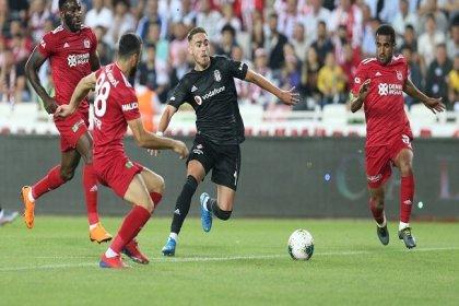 Beşiktaş, Demir Grup Sivasspor'a 3-0 yenildi
