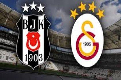 Beşiktaş-Galatasaray bu akşam karşı karşıya geliyor