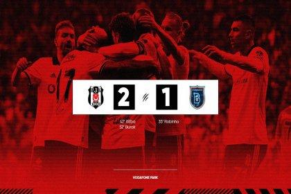 Beşiktaş, M. Başakşehir'i 2-1 yendi