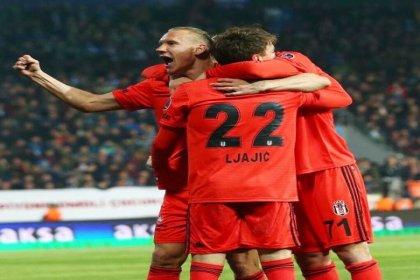 Beşiktaş, Rizespor'u 7-2 mağlup etti