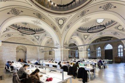 Beyazıt Kütüphanesi, dünyanın en güzel 10 modern kütüphanesi arasında yer aldı