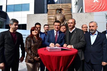 Beylikdüzü Belediyesi ve DİSK Genel İş toplu sözleşme imzaladı