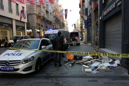 Beyoğlu'nda 6. kattan düşen işçi hayatını kaybetti