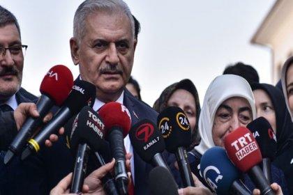 Binali Yıldırım Meclis başkanlığı görevini Celal Adan'a devrettikten sona hızlı trenle İstanbul'a geldi