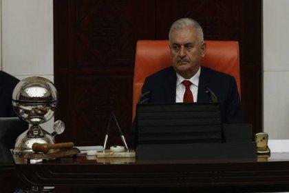 Binali Yıldırım Meclis Başkanlığı'na veda etti