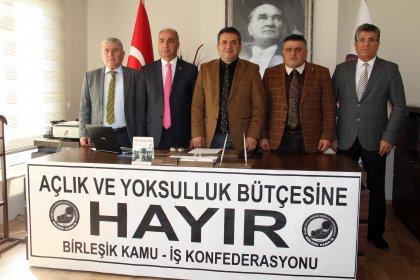 Birleşik Kamu İş'ten AKP'nin 2020 bütçe tasarısına tepki: '14 Aralık'ta da Ankara'da kitlesel eylem yapacağımızı ilan ediyoruz'