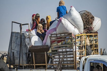 BM: Suriye'nin kuzeydoğusunda evlerini terk edenlerin sayısı 400 bini aşabilir