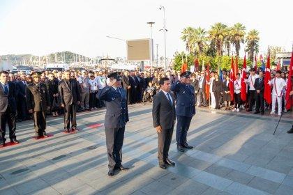 Bodrum, 10 Kasım'da Atatürk'ün sesini dinledi