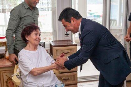 Bodrum Belediye Başkanı Ahmet Aras'tan, Fatma Girik'e ziyaret