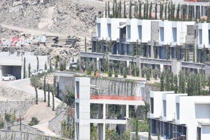 Bodrum'da imara aykırı yapıların yıkımına başlandı