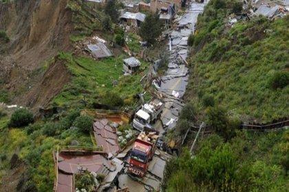Bolivya'da toprak kayması: 8 ölü