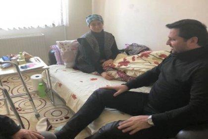 Bosna Sancak Derneği, engelli vatandaşın ameliyat masraflarını karşıladı