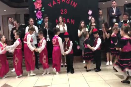 Bosna Sancak Derneği'nden coşkulu 23 Nisan kutlaması