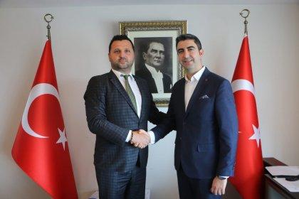 Bosna Sancak Derneği'nden Kartal Belediye Başkanı Yüksel'e ziyaret