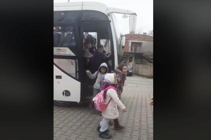 Büyükmandıra Belediyesi'nden öğrencilere ücretsiz servis