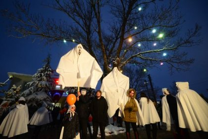 Büyükmandıra'da, bir Balkan geleneği olan 'Koleda' düzenlendi