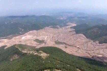 Çanakkale Belediye Başkanı Ülgür Gökhan Çanakkale'deki talanın görüntülerini paylaştı