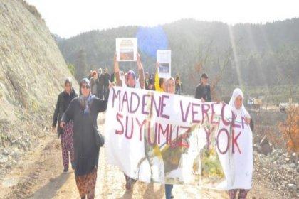 Çanakkale Kumarlar Köyü kadınları: Madene verecek suyumuz yok!