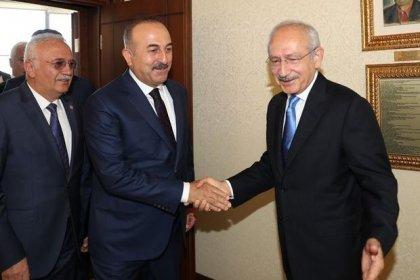 Çavuşoğlu ve Kılıçdaroğlu Libya tezkeresini görüşecek