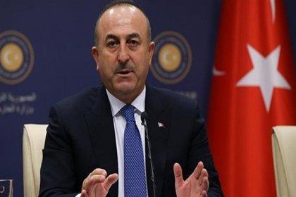 Çavuşoğlu'ndan Suriye açıklaması: Operasyon uluslararası hukuktan kaynaklanan hakkımız