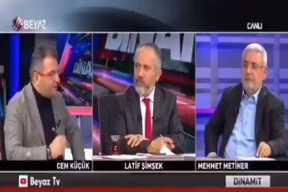 Cem Küçük: Erdoğan karşıtı herhangi biri seçilirse biz dahil herkes yargılanır. Beni tutukladılar diyelim Avrupa Birliği açıklama mı yapacak?