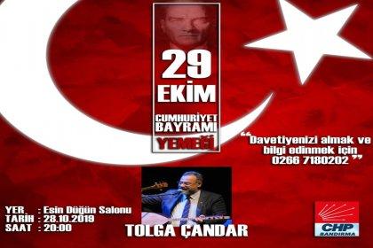CHP Bandırma İlçe Örgütü'nden '29 Ekim' yemeği
