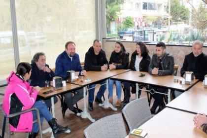 CHP Çiğli adayı Gümrükçü, Haziran Hareketi ile bir araya geldi