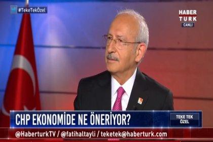 """CHP lideri Kılıçdaroğlu; """"Dine, kimliğe ve yaşam tarzına saygı duyan bir eksendeyiz'"""