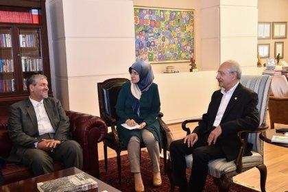 CHP lideri Kılıçdaroğlu, İran heyeti ile görüştü