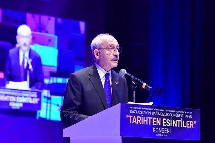 """CHP Lideri Kılıçdaroğlu, Kazakistan Cumhuriyeti 28. Bağımsızlık Yılı """"Tarihten Esintiler"""" konseri öncesi konuştu"""